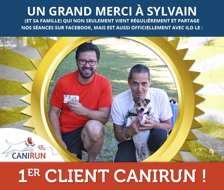 Sylvain : premier client Canirun